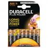 Baterijas DURACELL Alkaline AAA LR03